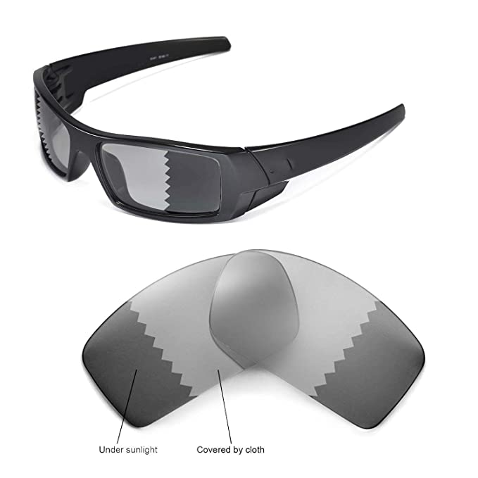 Walleva - Gafas de Sol - para Hombre Blanco Transition ...