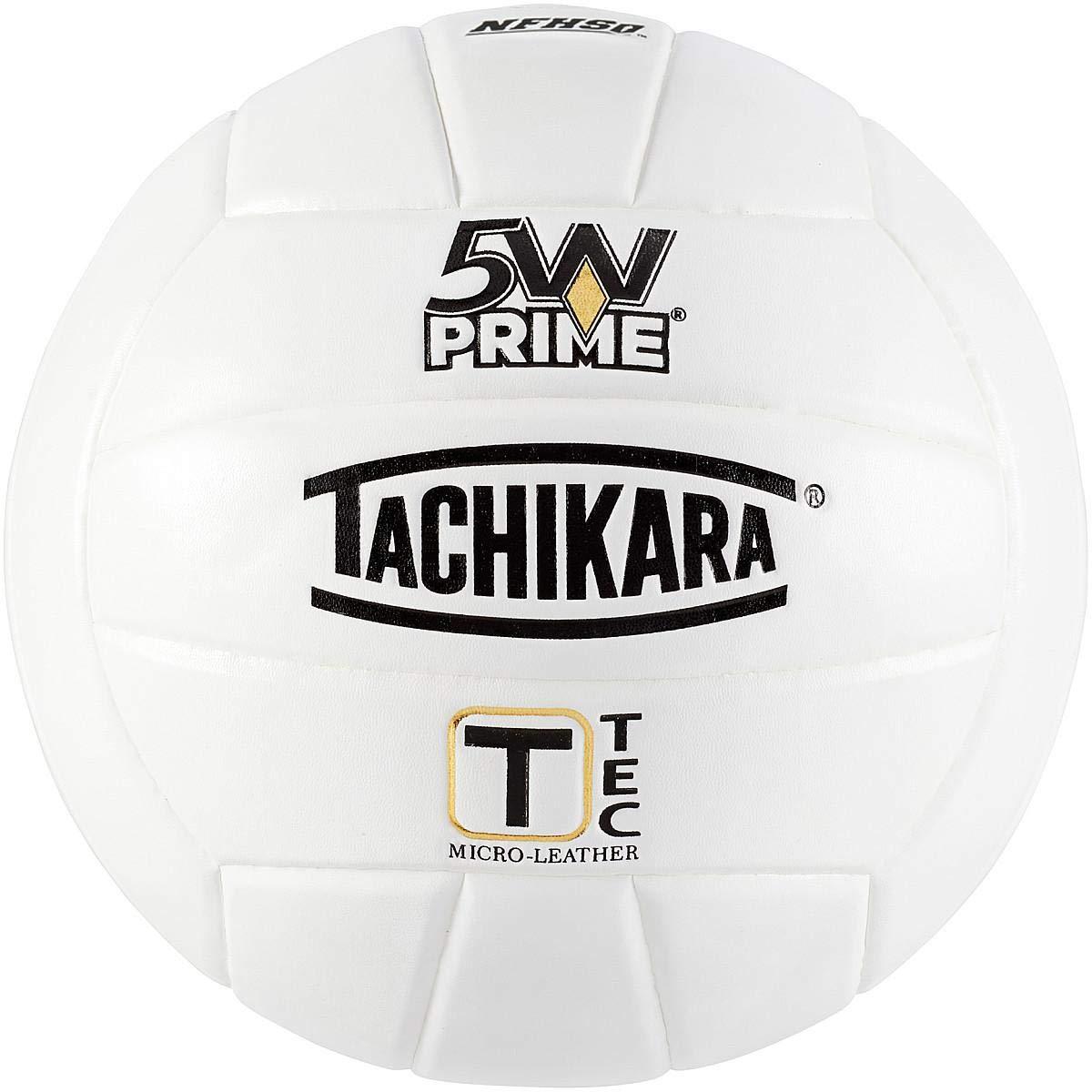 Tachikara 5W-Prime T-TEC Micro-Fiber Volleyball White