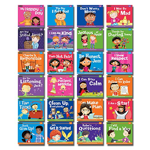 Social And Emotional Skills Everybody >> Amazon Com Newmark Learning Myself Readers Set 1 Each Of 24 Set Of