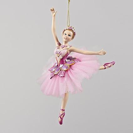 kurt adler sugar plum ballerina christmas ornament