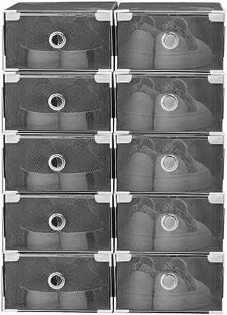 Vinteky® 10x Cajas Almacenaje Plegable de plástico Cajón ...