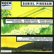 Pinkham: Christmas Cantata - Wedding Cantata - Advent Cantata - Introduction, Nocturne & Rondo - String Quartet
