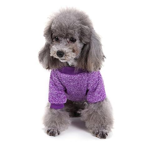 BEST OF BEST Sudadera de forro polar para mascotas, perros, gatos, ropa suave