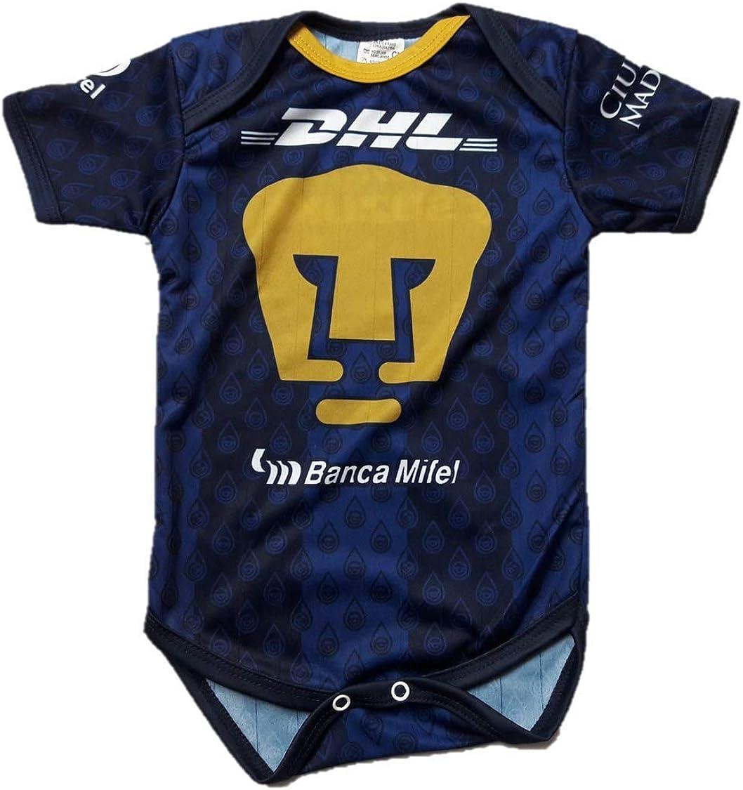 Pumas UNAM Away Baby Jersey Baby Jumpsuit Bodysuit Futbol Liga MX