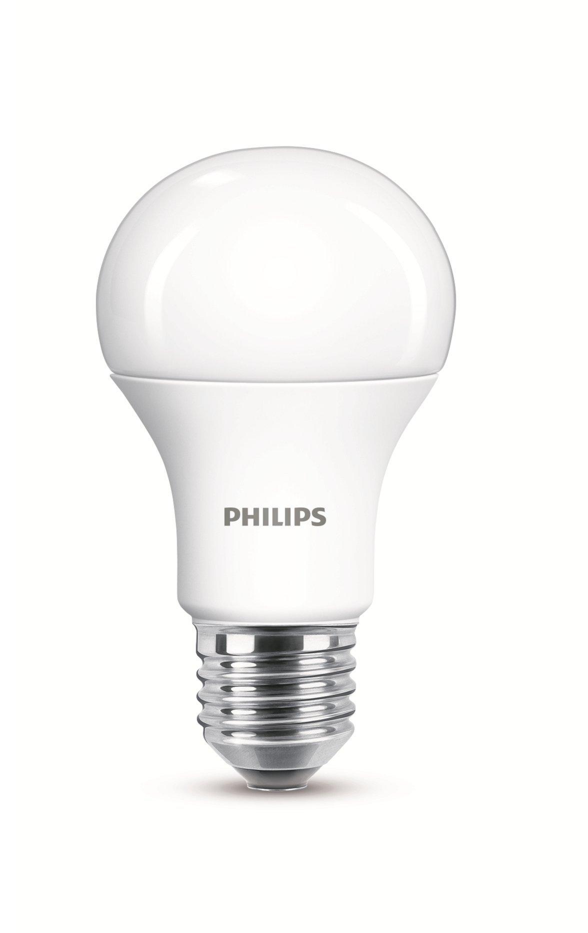 Philips LED 12.5 W (100 W) E27 A60 Edison bulb, cold ground daylight, 6500 K