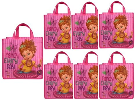 Amazon.com: Fancy Nancy - Juego de 6 bolsas para fiesta de ...