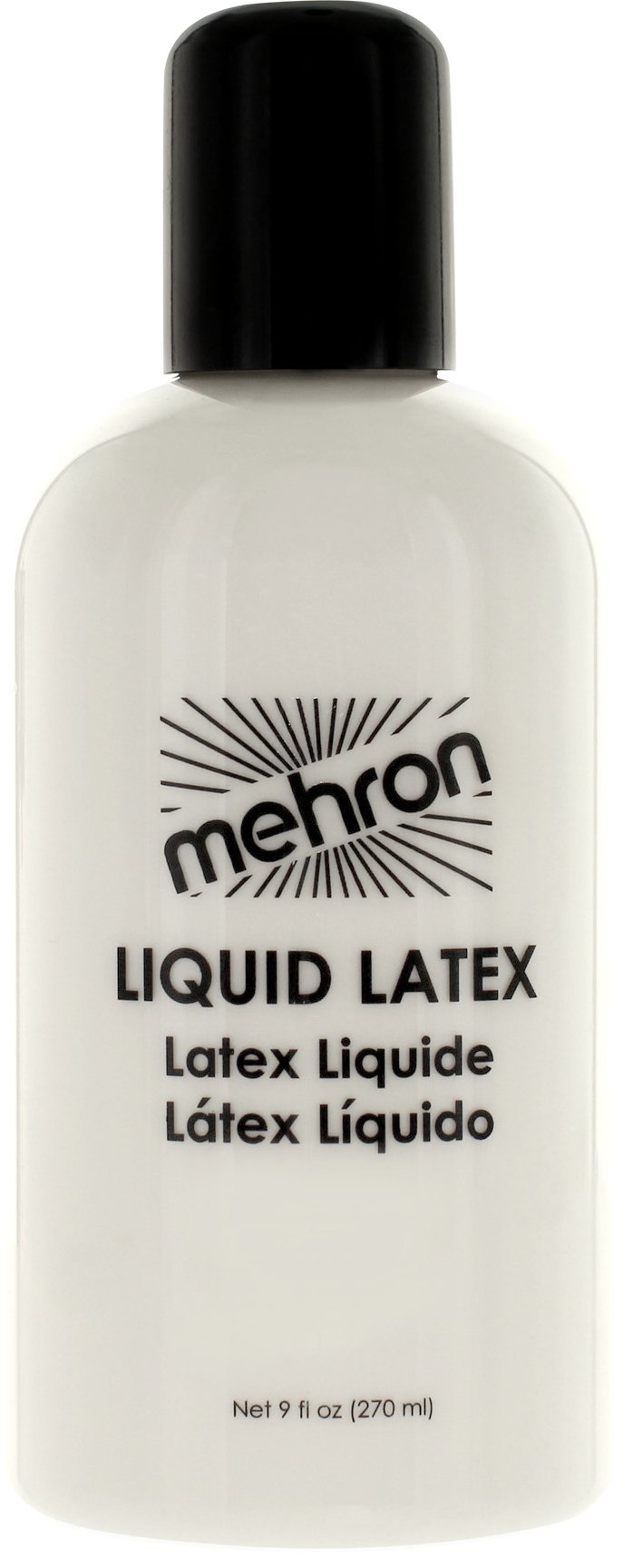 Mehron Makeup Liquid Latex (9 oz) (Clear Flesh)