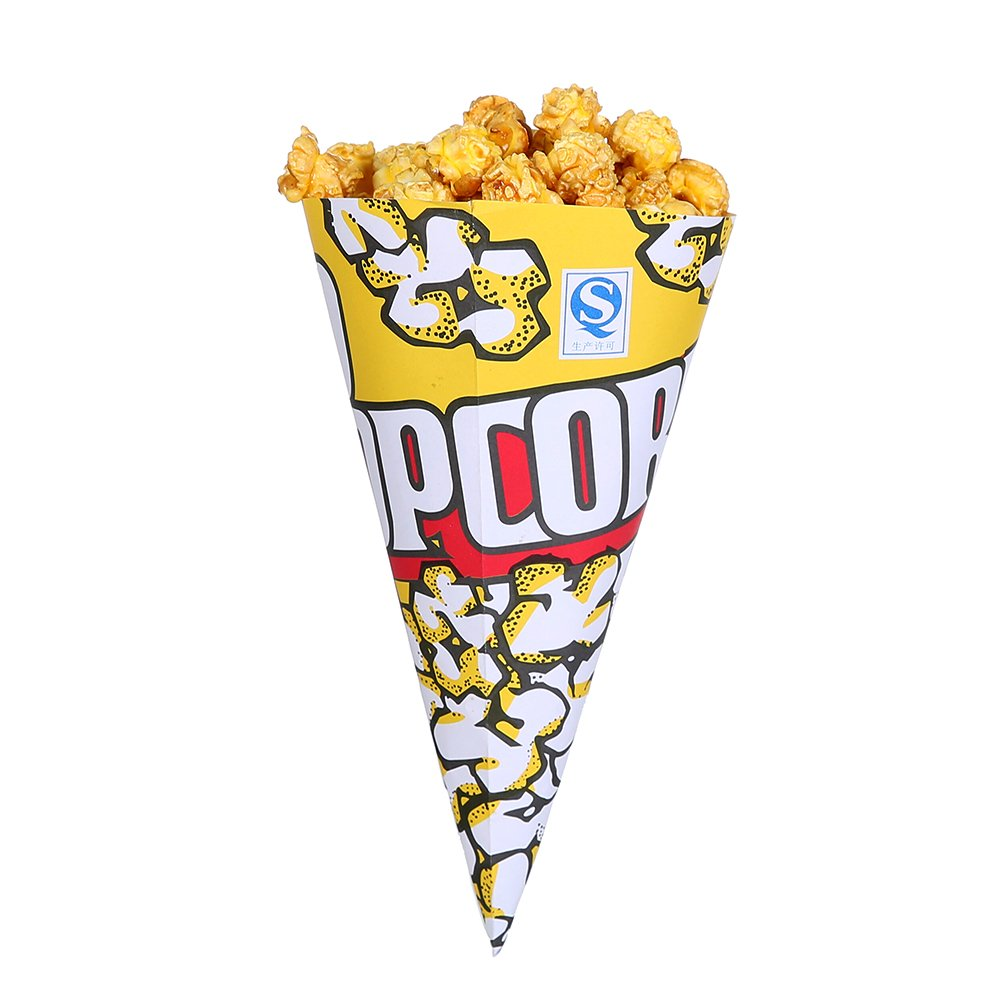 Amazon com: Yellow Popcorn Paper Bags  Great For The Movies