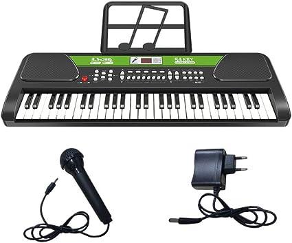 Teclado De Introducción para Niños, Piano USB Multifunción De ...