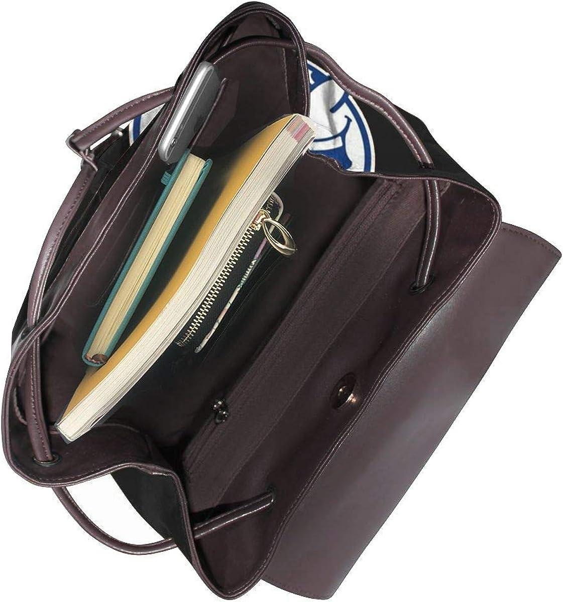 New York Baseball Fans Mr Met Womens Leather Multifunction Backpack