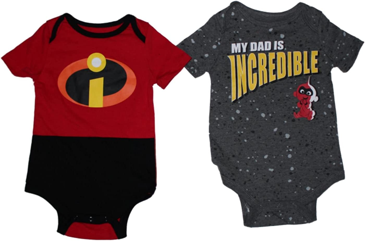 Disney Baby Boys The Incredibles Footies