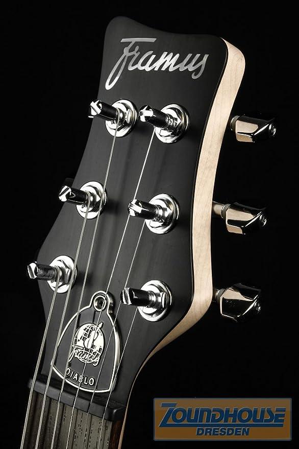 Framus Diablo Suprema X Z174681U115CPAFTFFZ guitarra acústica ...