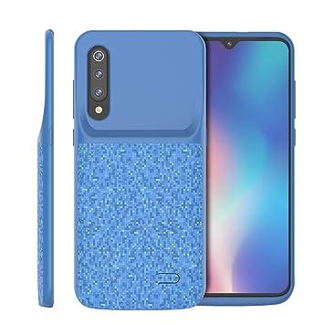 Xiaomi Mi 9 SE Funda Batería, 4700mAh Externa Funda Cargador Portatil Power Bank Backup Ultra Fina Recargable Batería Externa Carcasa Funda Protectora ...