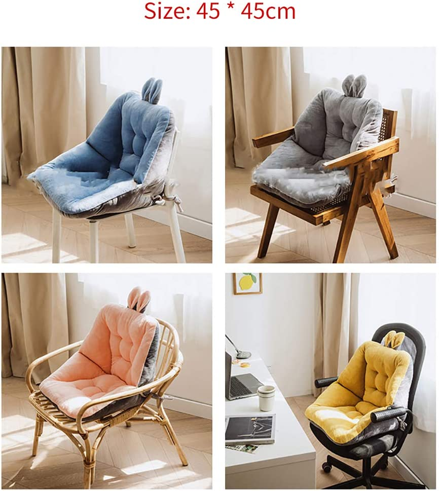 Sciatica Bleacher Seats with Backs and Cushion Winter Cushion for Home Car Coccyx Cushion A-Yellow Comfort Semi-Enclosed One Seat Cushion for Office Chair Tailbone Pain Relief Cushion