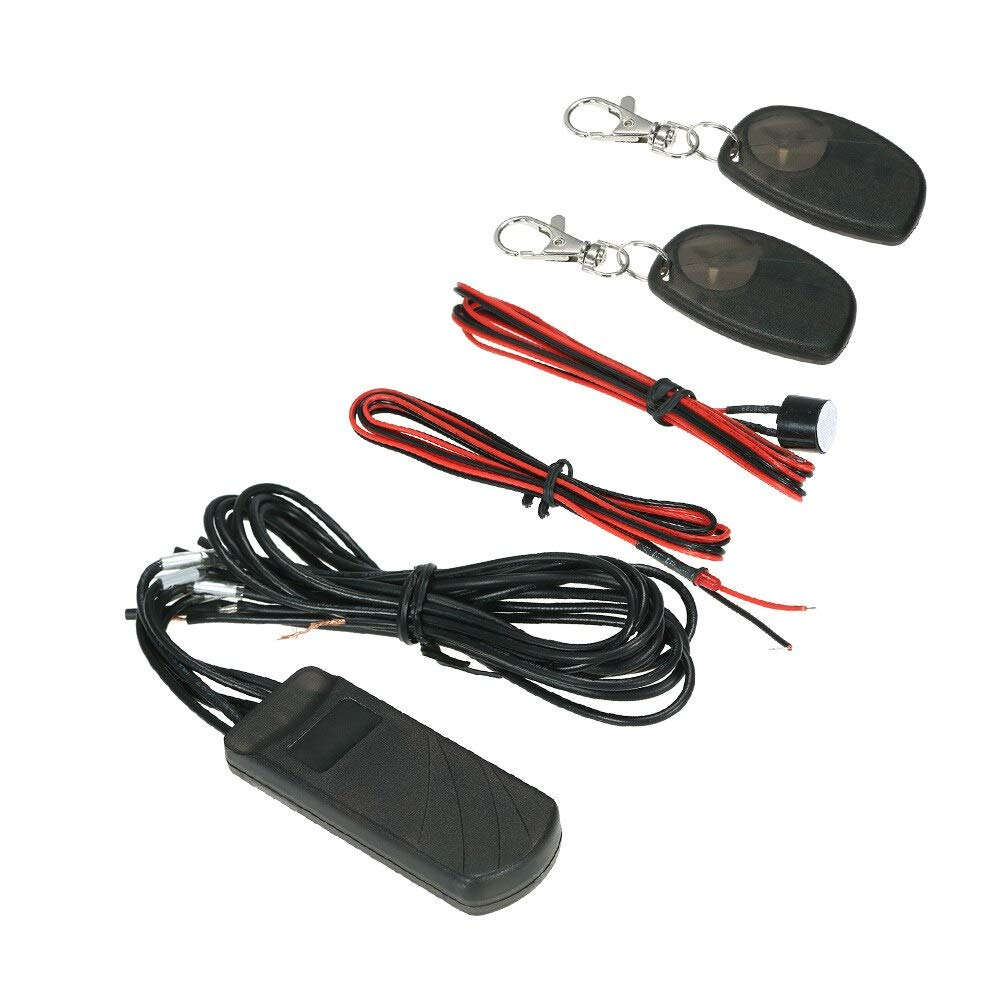 Victoria-ACX - 2.4GHz Car Alarm Immobilizer Circuit Cut Off Anti Hijacking Theft Universal Car Accessories