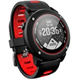 Smart Watch GPS Sports Watch Running watch Outdoor Sports Treadmill Walking Marathon ip68 Deep Waterproof Fitness Workout Support Compatible with iOS and Android