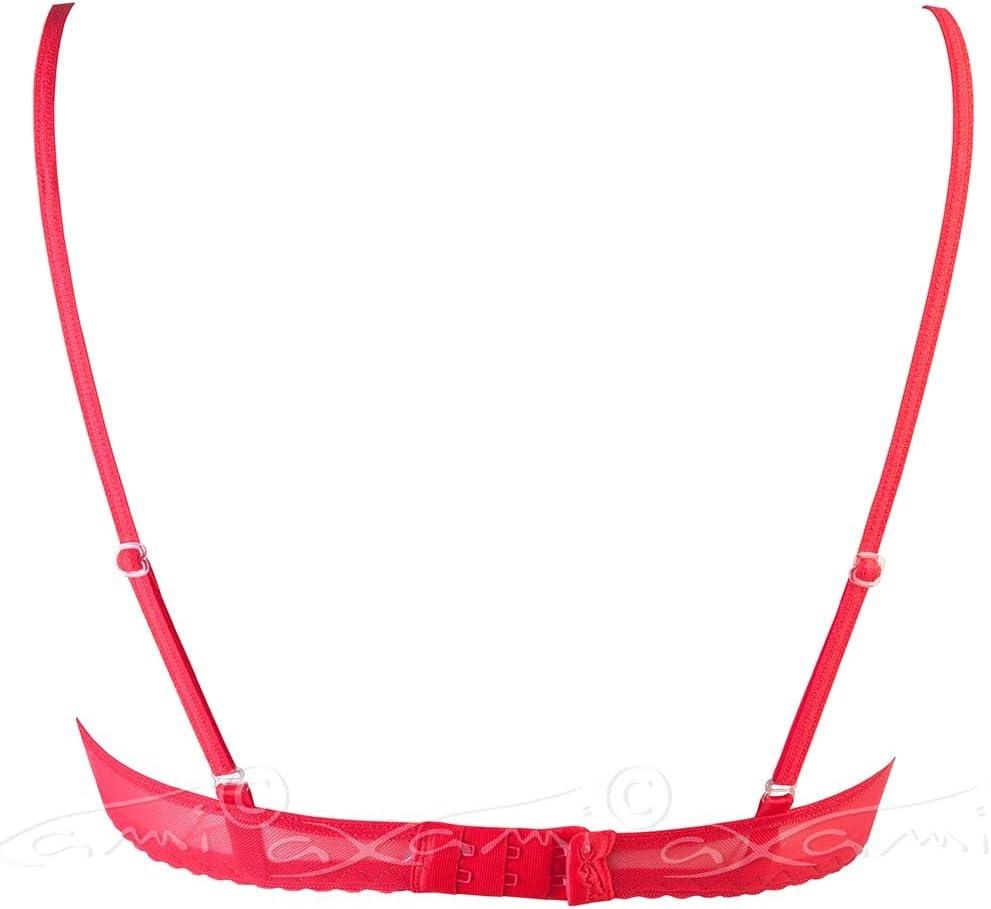 "Axami V-5231 /""Notice me/"" tempting luxurious open cup shelf bra Made in EU"