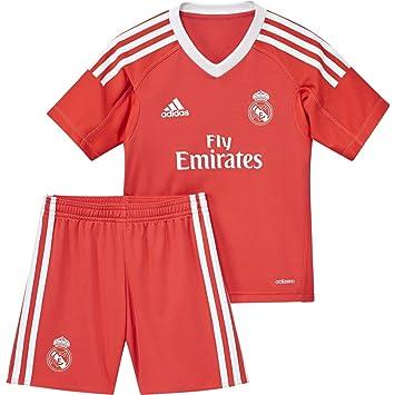 fc21f4737a5f3 adidas B31086 Ensemble Performance Mini kit Real Madrid Extérieur ...