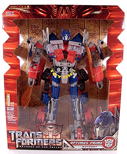Transformers Revenge Of The Fallen ROTF Leader Class Optimus
