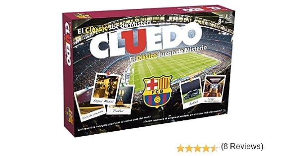 FCB FCBARCELONA Cluedo FC Barcelona (63409), Multicolor: Amazon.es: Juguetes y juegos