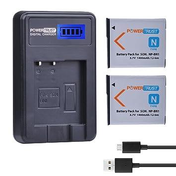 Sony Cyber-shot dsc-tx9 Cyber-shot dsc-w570 cable de carga Cargador de np-bn1