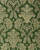 Wallpaper wall baroque damask EDEM 752-38 luxury heavyweight green gold platin-grey 5.33 sqm (57 sq ft)