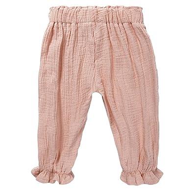 7e0209a16 LOOLY Unisex Baby Girls Boys Cotton Linen Blend Bloomer Pants ...