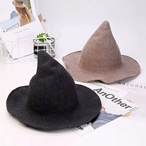 Hyde and Eek Women/'s Costume Witch Hat 2 Way Sequins Sparkly Halloween Costume