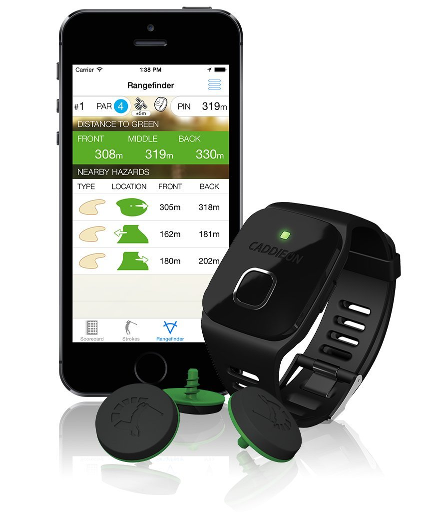 Caddieon GPS - Telescopio para Golf, Color Negro, Talla N.A