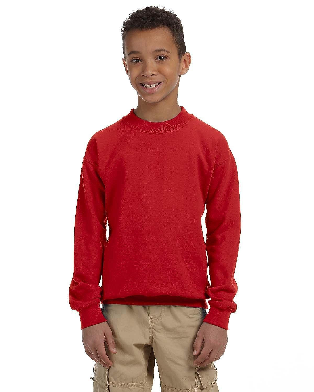 Gildan Boys Heavy Blend Crewneck Sweatshirt