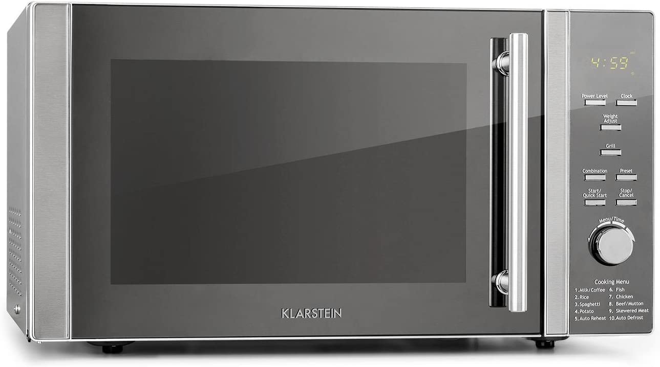 Klarstein Luminance Prime 34L microondas - grill y combi, 34 ...