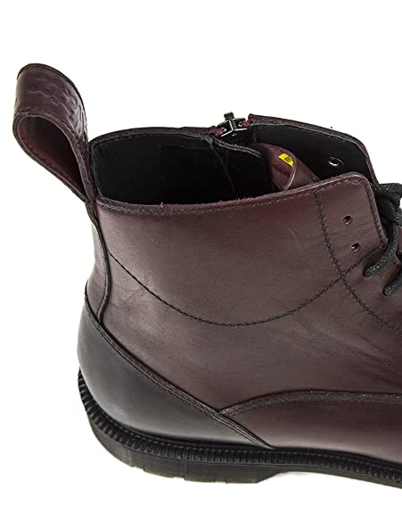 4db32e3ca85 Dr. Martens Men's Winchester 7 Eye Zip Boots - Cherry Red Antique ...