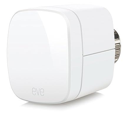 Elgato Eve Thermo (Generación anterior) - Válvula termostática para radiador con la tecnología Apple