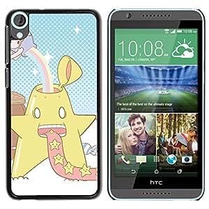 Star Power OYAYO HTC Desire 820 //Dise?os frescos para todos los gustos! Top muesca protección para su teléfono inteligente!