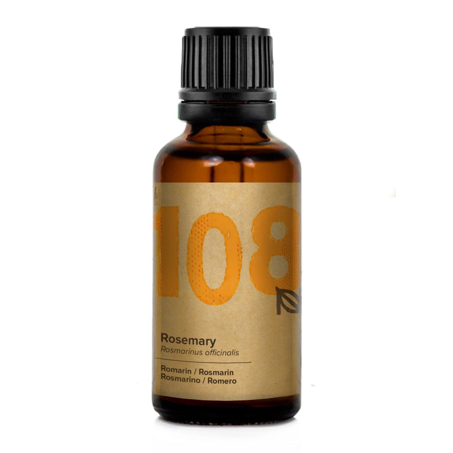 Naissance Aceite Esencial de Romero n. º 108 - 30ml - 100% Puro, vegano y no OGM: Amazon.es: Belleza