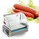 Amazon.com: ixaer Hot Dog Grill máquina, máquina de olla de ...