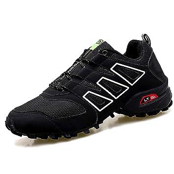 324b482aa2b MERRYHE Zapatos De Senderismo para Hombre con Cordones De Moda Acampar  Escalada Running Sneakers Outdoor Trainners Deportes Trekking Calzado:  Amazon.es: ...