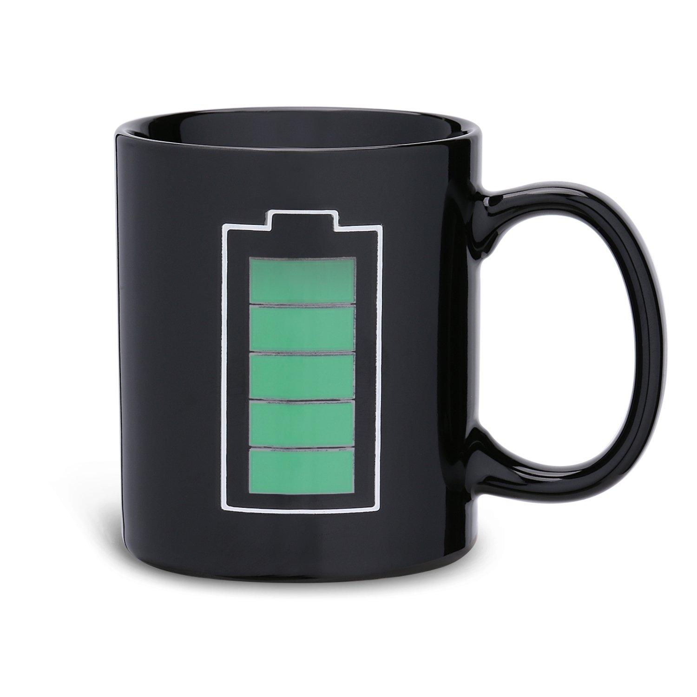 Incutex tazza calore tazza magica che cambia di colore –batteria