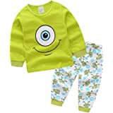Boys Pajamas 95% Cotton Clothes Spiderman Long Kids Pjs Toddler Sleepwear