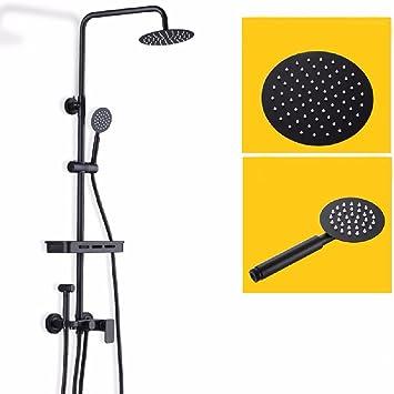 WAWZJ Dusche Set Schwarze Vier Stände Frauen Waschen Ihre Blume ...
