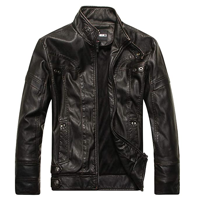 Amazon.com: Men Blouse, Dartphew -Mens Zipper Jacket ...