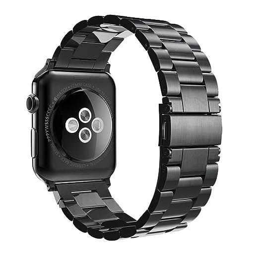 281 opinioni per Simpeak Cinturino Sostituzione per Apple Watch 42mm in Acciaio Inossidabile con