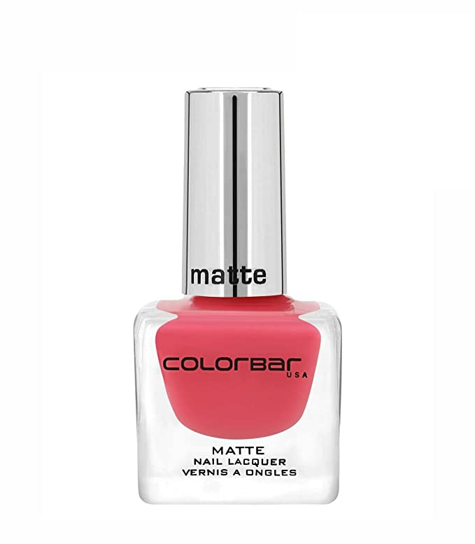 Colorbar CMN002 Matte Nail Lacquer, Pinked 002, 12ml Nail Polish at amazon