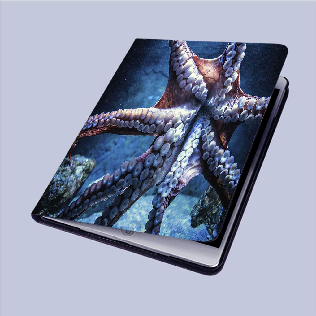 iPad 9.7用3Dプリントケース、オクトパスペーパーカットオンホワイト背景、軽量アンチスクラッチシェル自動スリープ/ウェイク、バックプロテクターカバーiPad 9.7インチAir/Air 2に対応 ipad air/ipad air2 マルチカラー W_J_1213-7Kipad03908 ipad air/ipad air2 colour8 B07LCPKZ4F