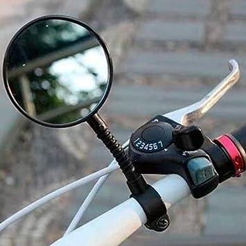 HNXCBH Universal Bicicleta de la Bici MTB Espejo del Manillar de ...