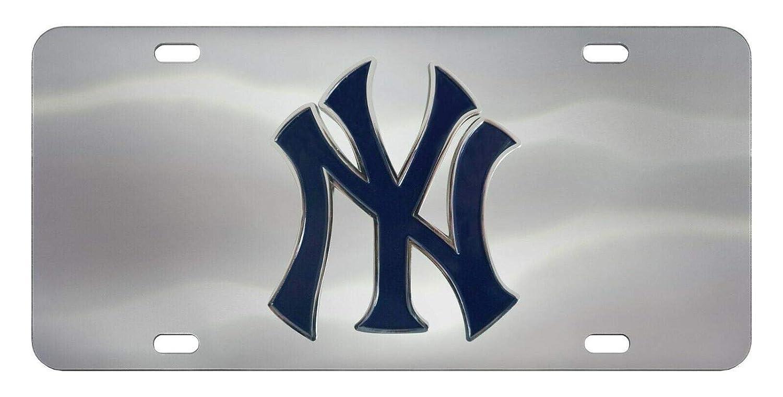 SLS FANMats Angels Premium Solid Metal Chrome Raised Auto Emblem Decal Baseball