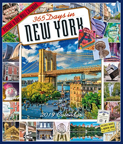 365 Days in New York Picture-A-Day Wall Calendar 2019 (Best Shopping In New York For Tourists)