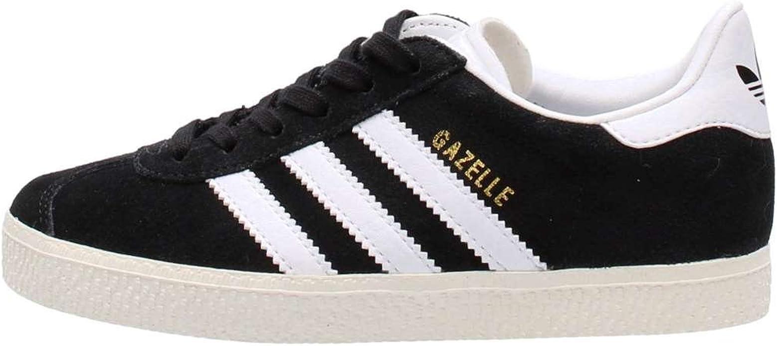 adidas Originals Gazelle C Trainers Child Black - 2.5 - Low Top Trainers Shoes
