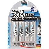 Ansmann 5035092 4x AA 2850mAh Rechargable Battery NiMH Digital