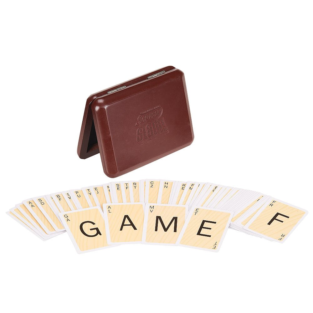 Toys R Us Pavilion Scrabble Slam Game With Sculpted Wood Case